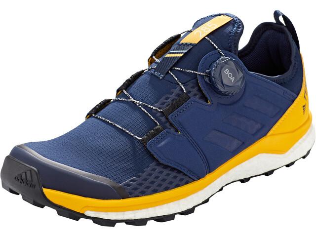 adidas TERREX Agravic Boa Buty Mężczyźni, collegiate navy/collegiate navy/active gold